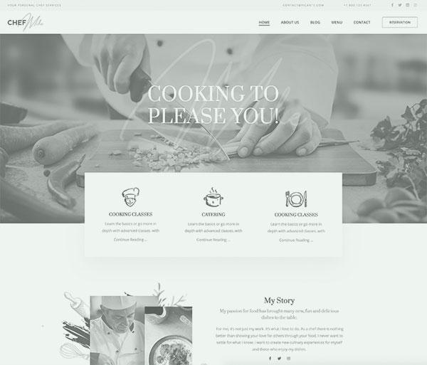 Webseiten für Restaurant, Cafe, Bar