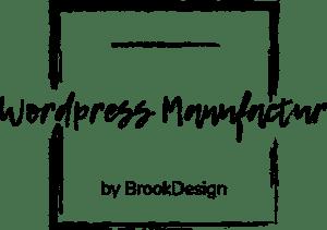 Logo - BrookDesign - Wordpress Manufaktur