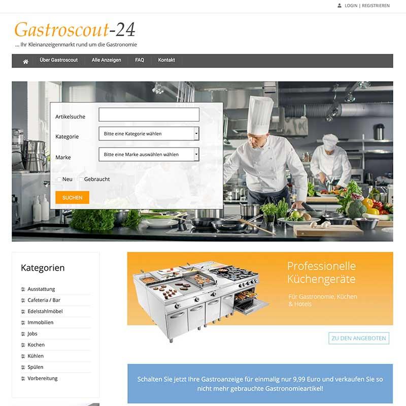 Gastroscout-24 - Referenz | BrookDesign