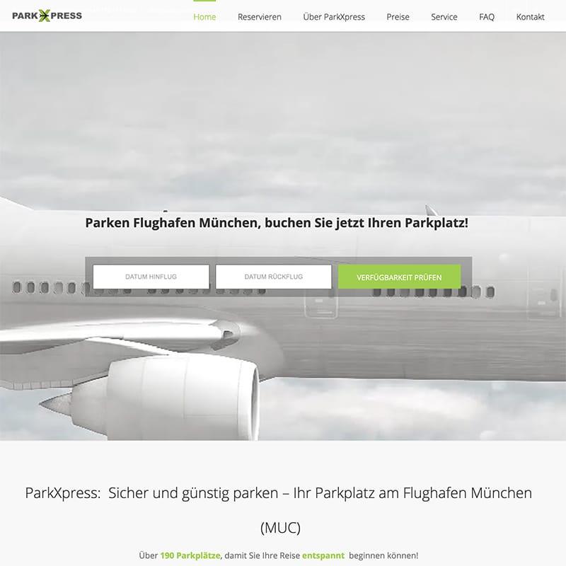 ParkXPress - Referenz | BrookDesign
