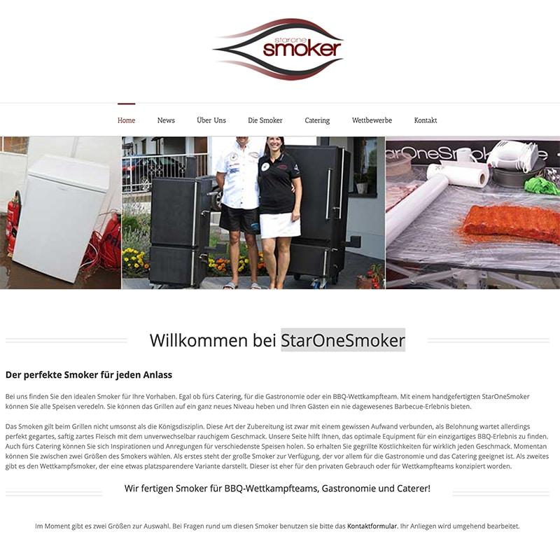StaroneSmoker - Referenz | BrookDesign